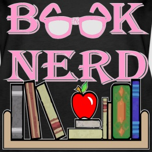 Book Nerd Geek Is The New Sexy  - Women's Premium Tank Top
