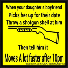 Shotgun Shell Moves A Lot Faster After 10PM