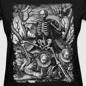 DEATH AND ROYAL TWINS B&W OCCULT T-SHIRT - Women's T-Shirt