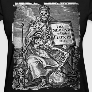 DEATH AS KING B&W OCCULT T-SHIRT - Women's T-Shirt