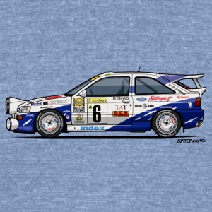 Ford Escort RS Cosworth Rally Monte Carlo T-Shirts - Unisex Tri-Blend T-Shirt by American Apparel