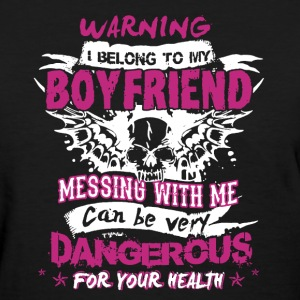 I Belong To My Boyfriend - Women's T-Shirt