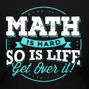 Math Is Hard Math Teacher - Women's Long Sleeve Jersey T-Shirt