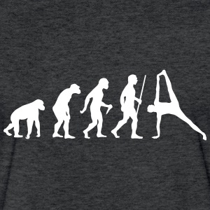 Evolution Yoga (Vasisthasana) T-Shirts - Fitted Cotton/Poly T-Shirt by Next Level