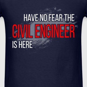 Civil Engineer - no Fear - Men's T-Shirt