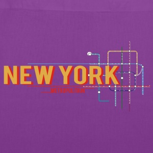 newyork-metro-plan Bags & backpacks - Tote Bag