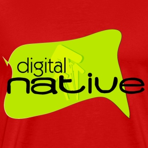 Digital Native - Men's Premium T-Shirt
