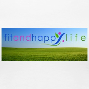 fit and happy life - Women's Premium T-Shirt
