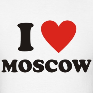 I love Moscow - Men's T-Shirt