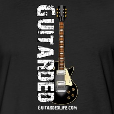 Guitarded T-Shirt Blk Guitar