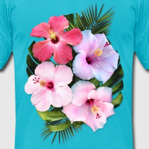 AD Flowers T-Shirts - Men's T-Shirt by American Apparel