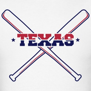 Texas Baseball T-Shirts - Men's T-Shirt