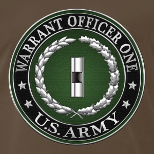 U.S. Army Warrant Officer One (WO1) Rank Insignia  - Men's Premium T-Shirt