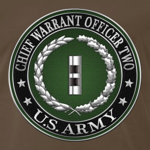 U.S. Army Chief Warrant Officer Two (CW2)  - Men's Premium T-Shirt