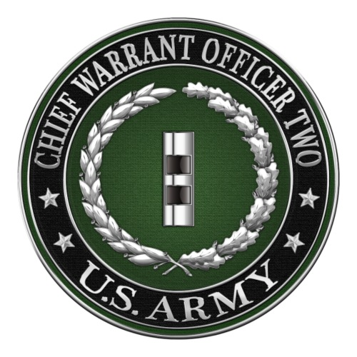 U.S. Army Chief Warrant Officer Two (CW2)