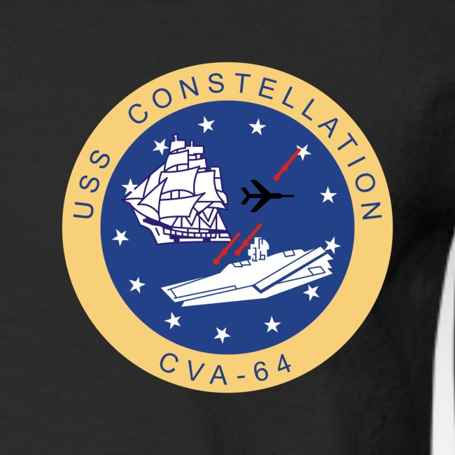 USS CONSTELLATION CVA-64 COMBAT CRUISE 1969-70 CRUISE SHIRT - LONG SLEEVE