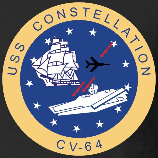 USS CONSTELLATION CV-64 WESTPAC  1988-89 CRUISE SHIRT - LONG SLEEVE - CRUISE PATCH EDITION