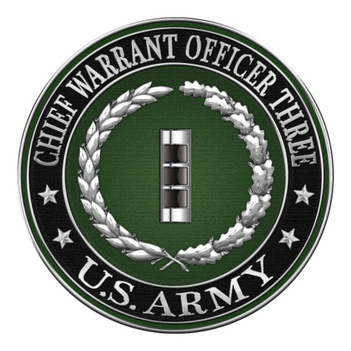Chief Warrant Officer Three (CW3) Rank Insignia