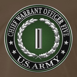 Chief Warrant Officer Five (CW5) Rank Insignia - Men's Premium T-Shirt