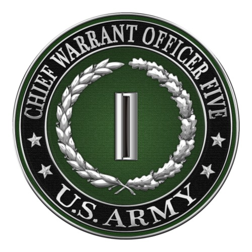 Chief Warrant Officer Five (CW5) Rank Insignia