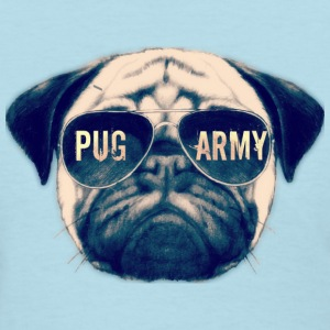 Pug In sunglasses REAL T-Shirts - Women's T-Shirt