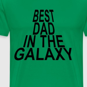 best_dad_in_the_galaxy_tshirt_ - Men's Premium T-Shirt