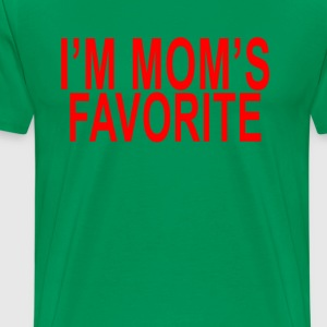 im_moms_favorite_tshirt_ - Men's Premium T-Shirt