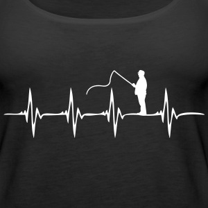 Heartbeat Fishing - Women's Premium Tank Top