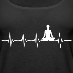 Heartbeat Yoga - Women's Premium Tank Top