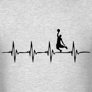 Heartbeat Basketball - Men's T-Shirt