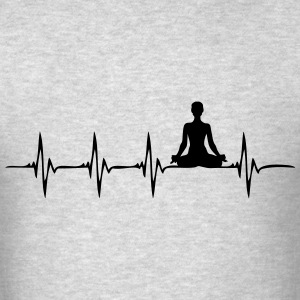 Heartbeat Yoga - Men's T-Shirt