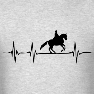 Heartbeat Horses - Men's T-Shirt