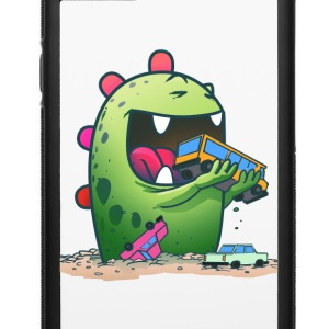 Cute monster iphone case - iPhone 6/6s Rubber Case
