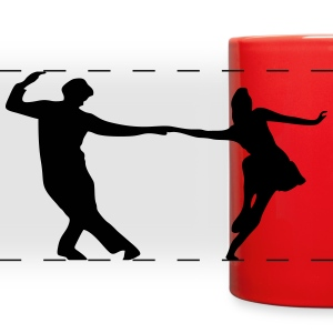 Dancers, Swing Mugs & Drinkware - Full Color Panoramic Mug