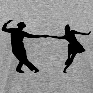 Dancers, Swing T-Shirts - Men's Premium T-Shirt