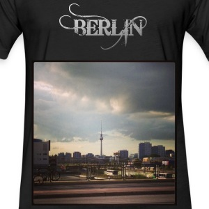 Berlin - Fitted Cotton/Poly T-Shirt by Next Level