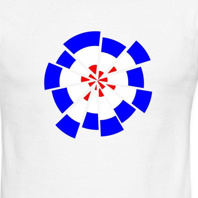Mod Target 'Roger' T Shirt | Men's Ringer T-Shirt