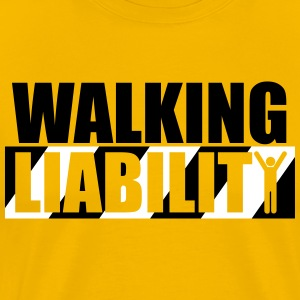 Walking Liability - Men's Premium T-Shirt
