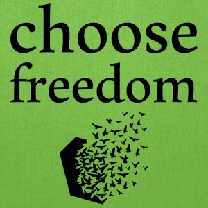 choose freedom Bags & backpacks - Tote Bag