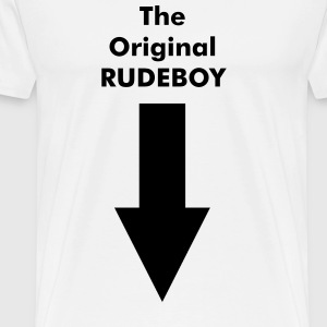 The original rude boy - Men's Premium T-Shirt