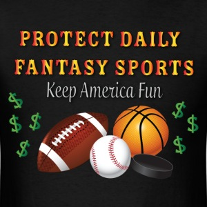 Protect Daily Fantasy Sports - Men's T-Shirt