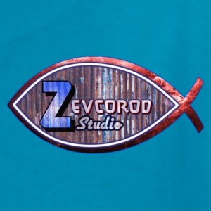 Kid's size Rustic Logo for: Zevcorod Studio - Kids' T-Shirt