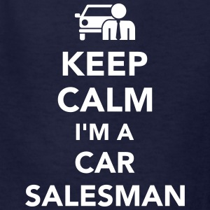 Keep calm I'm a car salesman Kids' Shirts - Kids' T-Shirt