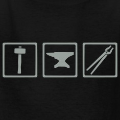 Blacksmith tools Kids' Shirts