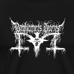 Baphomets Horns logo - Men's Premium T-Shirt