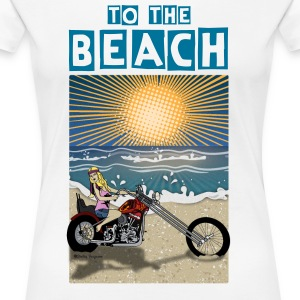 to the BEACH! Female T-Shirt - Women's Premium T-Shirt