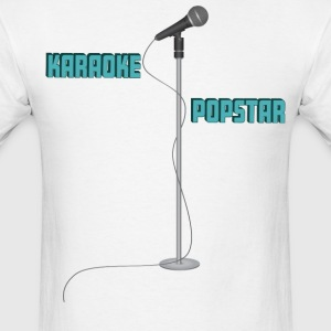 karaoke Popstar - Men's T-Shirt