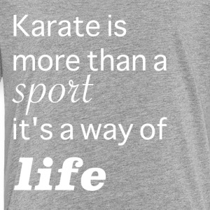 Karate more than a Sport - Kids' Premium T-Shirt