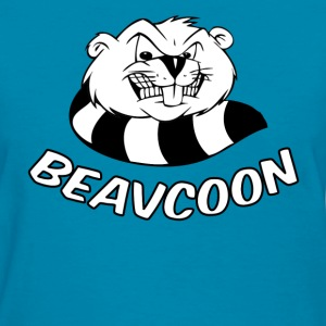 Womens Beavcoon - Women's T-Shirt