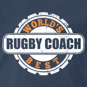 World's Best Rugby Coach T-Shirts - Men's Premium T-Shirt
